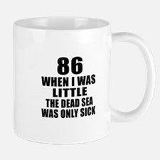 86 When I Was Little Birthday Mug