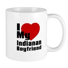 I Love My Indianan Boyfriend Mug