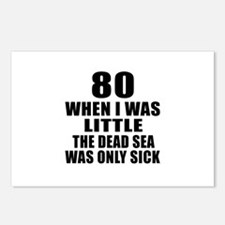 80 When I Was Little Birt Postcards (Package of 8)