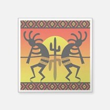Southwest Design Dancing Kokopelli Sticker