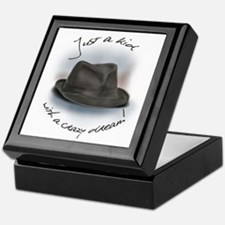 Hat For Leonard Crazy Dream Keepsake Box