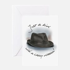 Hat For Leonard Crazy Dream Greeting Cards