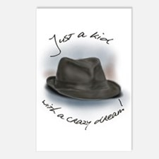 Hat For Leonard Crazy Dream Postcards (Package of