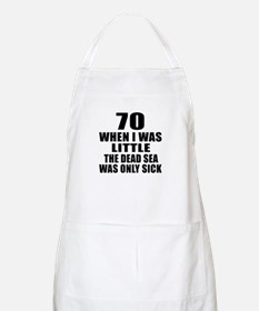 70 When I Was Little Birthday Apron