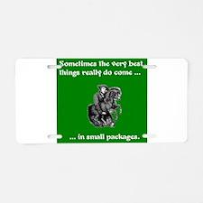 Mini Horse - Best Things in Aluminum License Plate