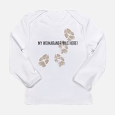 Weimaraner Long Sleeve Infant T-Shirt