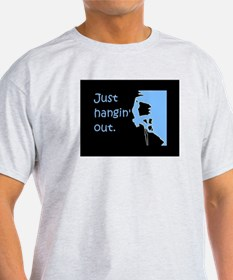 Just hangin' out - black-blue T-Shirt