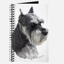 Schnauzer Portrait Art Journal