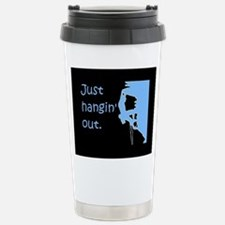 Just hangin' out - blac Stainless Steel Travel Mug