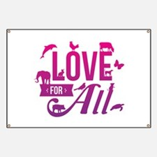 Love for All Banner