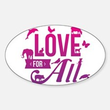 Love for All Decal