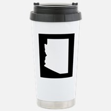 arizona white black Stainless Steel Travel Mug