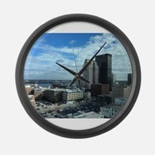 Louisville Skyline Large Wall Clock