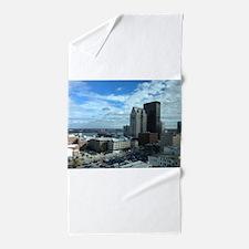 Louisville Skyline Beach Towel