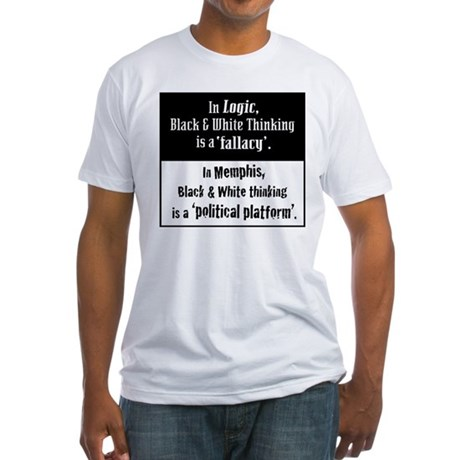 Logic/Memphis Fitted T-Shirt