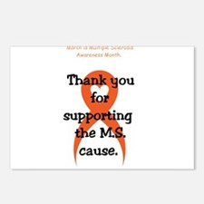 March - M.S. Awareness - Postcards (Package of 8)
