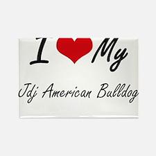 I love my Jdj American Bulldog Magnets