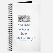 To ride a horse is to ride the sky Journal