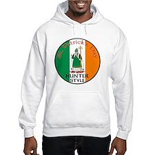 Hunter, St. Patrick's Day Hoodie