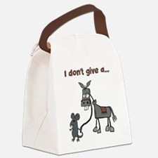 I dont give a... Canvas Lunch Bag