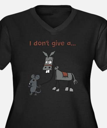 I dont give a... Plus Size T-Shirt