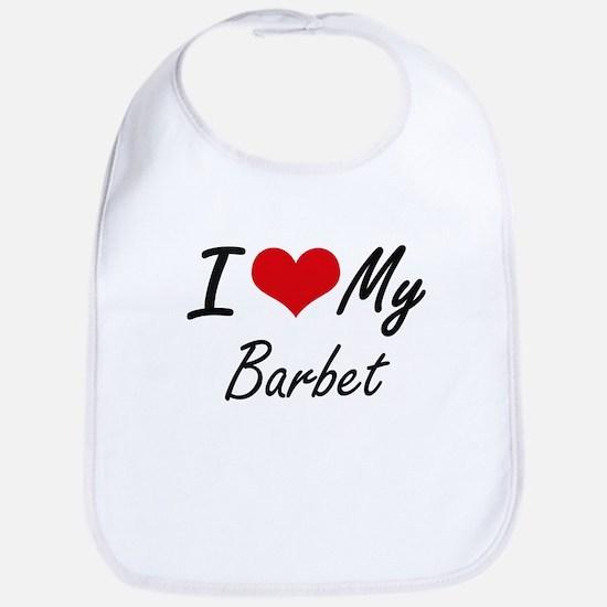 I love my Barbet Bib