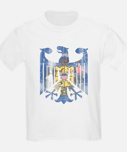 German Eagle Wisconsin Flag Vintage T-Shirt