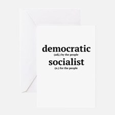 Democratic Socialist Greeting Cards