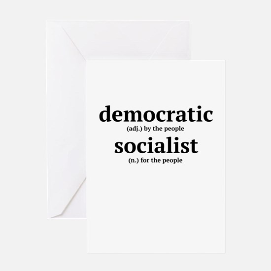 Democratic Socialist Greeting Cards