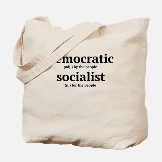 democratic socialist Tote Bag
