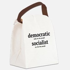 democratic socialist Canvas Lunch Bag