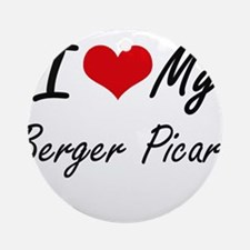 I love my Berger Picard Round Ornament