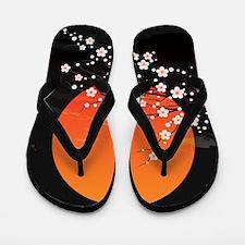 Asian Night Flip Flops
