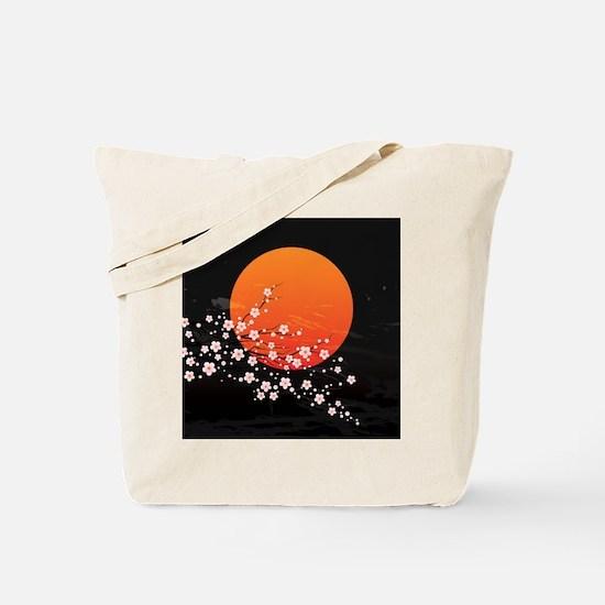 Asian Night Tote Bag