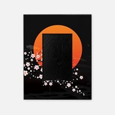 Asian Night Picture Frame