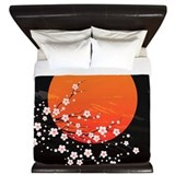 Cherry blossom King Duvet Covers