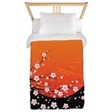 Asian night Twin Duvet Covers