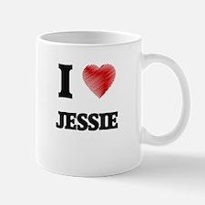 I Love Jessie Mugs
