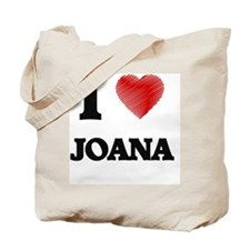 I Love Joana Tote Bag