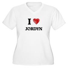 I Love Jordyn Plus Size T-Shirt