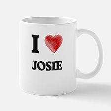 I Love Josie Mugs