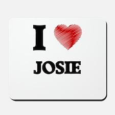 I Love Josie Mousepad