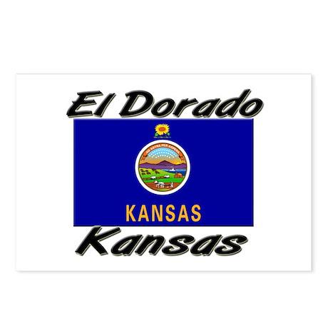 El Dorado Kansas Postcards (Package of 8)