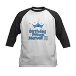 CUSTOM - 1st Birthday Prince Kids Baseball Jersey