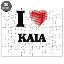 I Love Kaia Puzzle