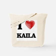I Love Kaila Tote Bag