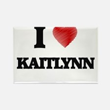 I Love Kaitlynn Magnets