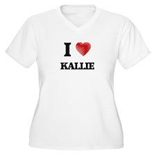 I Love Kallie Plus Size T-Shirt