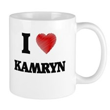 I Love Kamryn Mugs