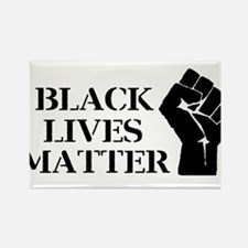 Black Lives Matter - Raised Clenched Fist Magnets